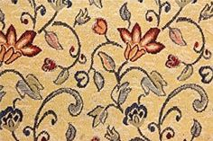 RED & BLUE TRADITIONAL FLORAL FLOWERS TAPESTRY SOFT FURNISHINGS UPHOLSTERY CURTAINS SOFA CUSHION FABRIC PER METRE 140CM WIDTH