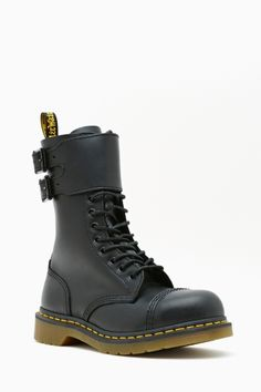 Dr. Martens Caden Combat Boot. Reminding self to one day acquire Doc Martens... :-D