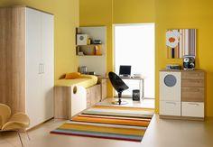 dormitorios color amarillo