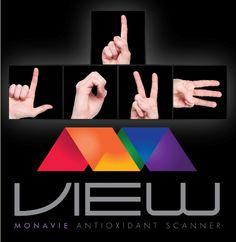 I LOVE VIEW  MonaVie Antioxidant Scanner