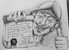 Nobby Nobbs Discworld Terry Pratchett Fan Art