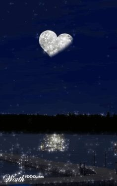 Animated Gif by Kevin_JKen Good Morning Good Night, Good Night Quotes, Night Time, Yoga Studio Design, Night Pictures, Heart Pictures, Les Gifs, Beautiful Moon, Animation