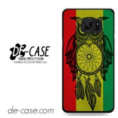 Owl Jamaican Flag DEAL-8361 Samsung Phonecase Cover For Samsung Galaxy Note 7