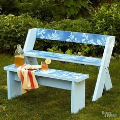 Learn how to build your own Leopold bench and matching table. All you need is a weekend and an extra set of hands.
