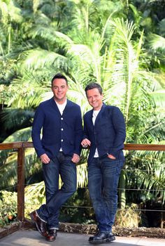 Do you think these two would be free for dinner? Jungle all the way... (via Official Ant and Dec.com)