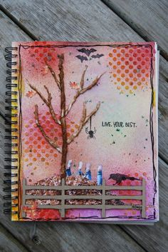 Fall... art journal