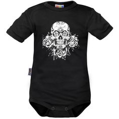 Body bébé: TÊTE de mort originale - Avec crânes - Family In Black