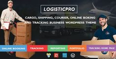 Logistic Pro v1.0.0 – Transport Cargo Online Tracking WordPress Theme