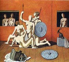 Fan account of Giorgio de Chirico, an Italian Surrealist Painter who founded the Scuola Metafisica art movement. Baptism Of Christ, Spanish Artists, Arte Popular, Traditional Paintings, Italian Artist, Art Studies, Art Plastique, Art Images, Les Oeuvres