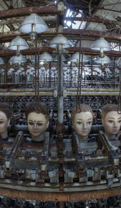 Pictures from this abandoned doll factory, believed cursed, are pure nightmare fuel