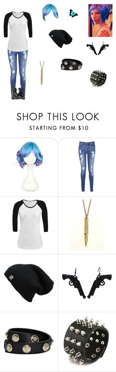 """Chloe Price"" by sirengem ❤ liked on Polyvore featuring Tommy Hilfiger, Versace and Paolo Shoes"