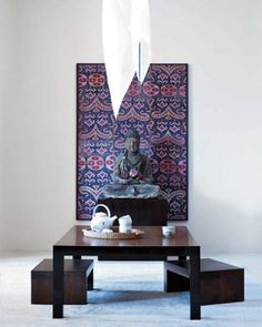 The Global Table by Jeanine Hays on @HGTV. Modern Tea Room, Design by Amy Lau, Featured in Elle Decor.