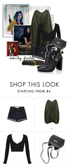 """""""emily fields"""" by black-eclipse-red-sky ❤ liked on Polyvore featuring Abercrombie & Fitch, Goroke, WithChic, Senso, PrettyLittleLiars, pll and EmilyFields"""
