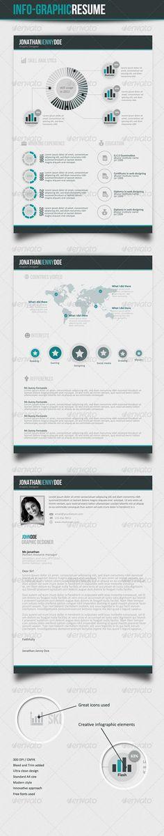 CV infografía by Jemoraz , via Behance Infographic Visual - higher education resume examples
