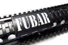 Handguard Rail Cover: FUBAR - Large (LEA)