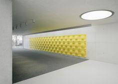 The Forum at Eckenberg Gymnasium by Ecker Architekten #interiors #architecture