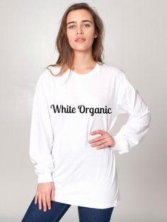 Unisex Organic Fine Jersey Long Sleeve T. Hoodies, Sweatshirts, Graphic Sweatshirt, Organic, T Shirts For Women, Unisex, Tees, Long Sleeve, Eco Friendly