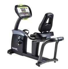 Recumbent Bike C575R STATUS SERIE  - zelf genererend - 40 weerstandslevels - Max. gebruikersgewicht is 227 kilogram - Instelbaar zadel en rugleuning