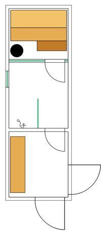 Kotikylpylän tilasuunnittelu koostuu kolmesta vaiheesta. Tilojen kalustamisesta, ilmavasta saunasta ja pesuhuoneesta sekä viihtyisistä ja turvallisista lauteista. Saunas, Steam Room