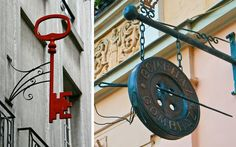 | Banderolas comerciales para la decoración de fachadas