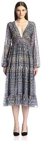 Carolina K Womens Greta Maxi Dress Indigo S ** Be sure to check out this awesome product.