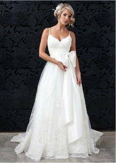 Spaghetti Strap Wedding Dress - Resume Format Download Pdf