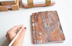 DIY: Libreta hecha a mano encuadernación japonesa
