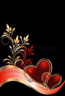"Buy the royalty-free Stock vector ""Decorative hearts"" online ✓ All rights included ✓ High resolution vector file for print, web & Social Media Love Wallpaper Download, Cute Images For Wallpaper, Framed Wallpaper, Beautiful Nature Wallpaper, Iphone Background Wallpaper, Heart Wallpaper, Cool Backgrounds, Pretty Wallpapers, Background Images"