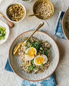 A NOURISHING SAVORY PORRIDGE FOR WINTER » The Year In Food