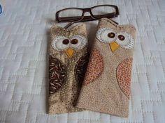 Amor-Perfeito-Amor: Corujas porta-óculos