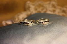 Engagement rings. Silver and gold. Handmade by Goldsmith Sanna Hytönen, Suolahti. http://www.kultaseppasannahytonen.com/