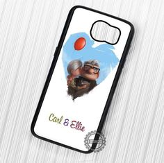 Pixar Up Carl Ellie Love So Sweet - Samsung Galaxy S7 S6 S5 Note 7 Cases & Covers