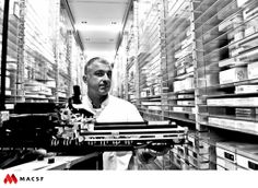 "Gérard, pharmacien /  MACSF - Exposition ""Hospitalier en lumière"""