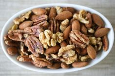 Crispy Nuts—preparing nuts properly helps make them more nutritious.