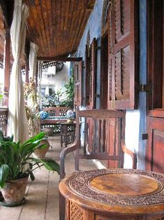 This little hotel is hidden in the middle of Zanzibar old town - access by foot only!