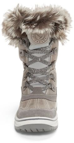 Faux Fur Lace Up Winter Snow Boots | Boots | Pinterest | Faux fur ...
