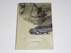2004 Ford Expedition Owners Manual Book