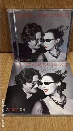 MARTIRIO Y CHANO DOMÍNGUEZ. ACOPLADOS / CON LA ORQUESTA DE RTVE. CD / 12 TEMAS / CALIDAD LUJO.