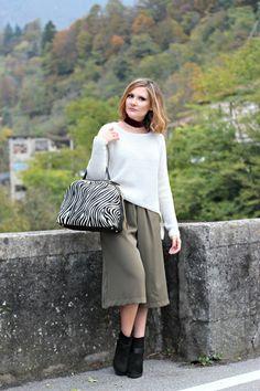 Zebra print fashion trend – Moda stampa zebrata (Casual chic outfit idea)