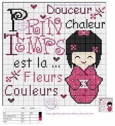 printemps - Point de croix - Blog : http://broderiemimie44.canalblog.com/