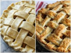 This easy apple pie recipe comes out perfect every time! Flaky, buttery pie crust loaded with cinnamon-sugar caramelized apples. A truly scrumptious pie! Gala Apple Pie Recipe, Green Apple Pie Recipe, Gala Apples Recipe, Green Apple Recipes, Best Apple Desserts, Apple Pie Recipe Easy, Best Apple Pie, Apple Recipes Easy, Homemade Apple Pies