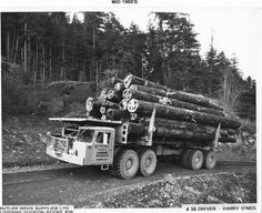 logging equipment   Thread: Butler Brothers logging trucks