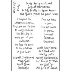 Christian Christmas Card Sayings.Pinterest