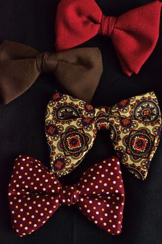 Bow ties for every occasion