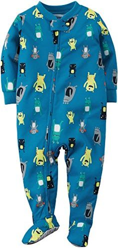 Carters Baby Boys Monsters Zip Up Sleep & Play   Carters Baby Boys Monsters Zip Up Sleep & Play Carter's offers cute and comfortable clothing with soft durable fabrics! This one-piece sleep and play zips from neck to ankles for easy changes and features a monster print and built in footies with grippers. 100% Cotton.  http://www.allsleepwear.com/carters-baby-boys-monsters-zip-up-sleep-play/