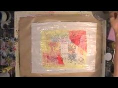 ▶ Tissue Paper Layering - YouTube. Suzi Dennis - Create your own unique papers using this technique and all kinds of scraps, stamping, etc.