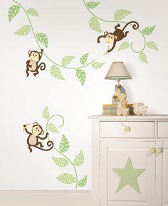 Wall Art Kit Monkeying Around Wall Decal