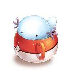 FUN FACT: Wooper can learn the move Ice Punch, despite not having arms. FUN FACT I love Wooper an unreasonable amount. Pokemon Fan Art, Cool Pokemon, Pokemon Stuff, Storyboard, Wooper Pokemon, Cute Pokemon Pictures, Pokemon Pocket, Zelda, Favim