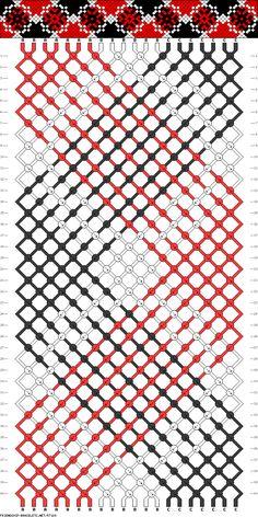 20 strings, 3 colors, 40 rows