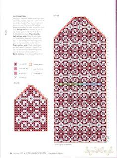Valokuvat ryhmän seinällä – 12,626 valokuvaa Knitted Mittens Pattern, Knit Mittens, Knitting Socks, Mitten Gloves, Knitting Needles, Hand Knitting, Knitting Charts, Knitting Patterns, Craft Patterns